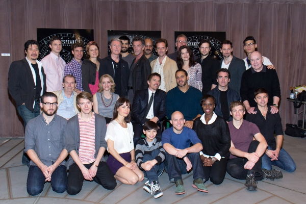 Photo Coverage: 27 Member Company of Broadway's MACBETH Meets the Press!