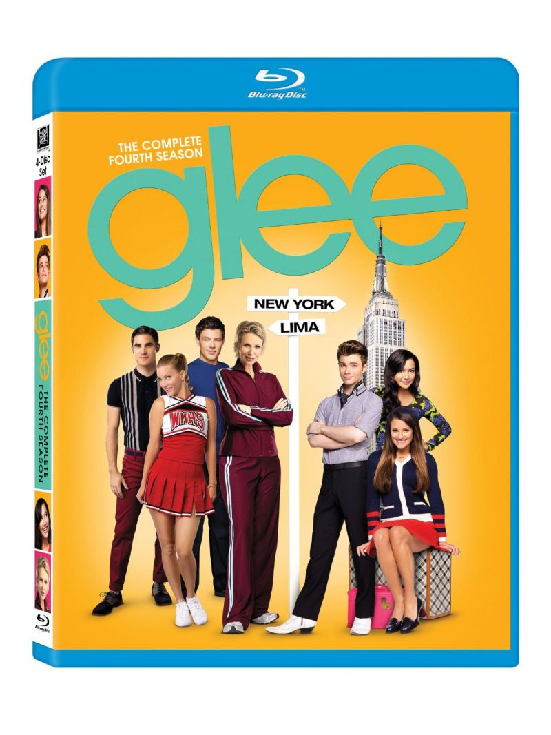 GLEE Season Four Available Now On Blu-ray & DVD