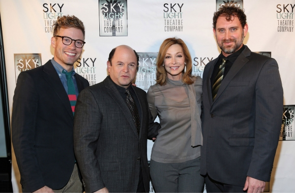 Barrett Foa, Jason Alexander, Sharon Lawrence and Tim Cummings