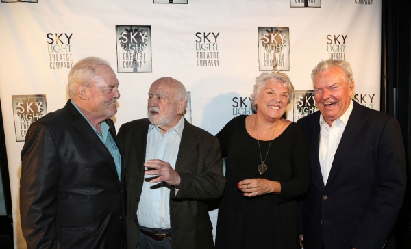 Stacy Keach, Ed Asner, Tyne Daly and Peter Jason