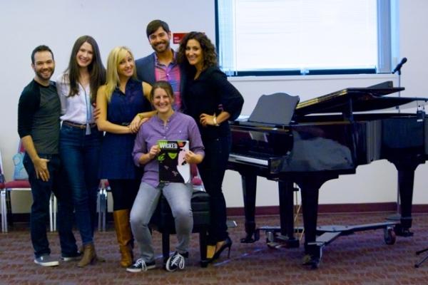 Brett Teresa, Jackie Vanderbeck, Libby Servais, Daniel Torres , Kristen Rosenfeld on Piano and Anne Brummel