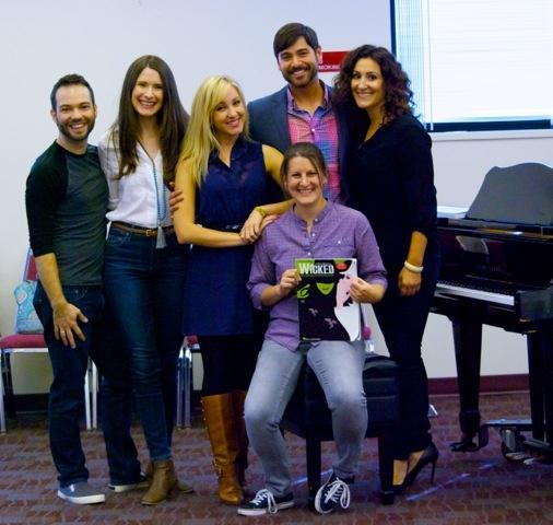 Brett Teresa, Jackie Vanderbeck, Libby Servais, Daniel Torres, Kristen Rosenfeld on Piano and Anne Brummel