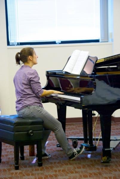 Kristen Rosenfeld on Piano