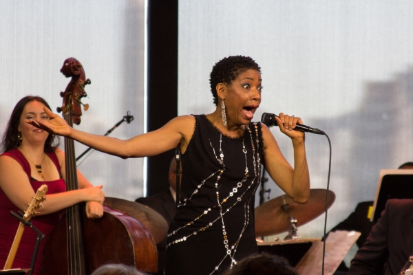 Photo Coverage: Fantasia, Adriane Lenox & Jazz at Lincoln Center All-Stars Give Preview of AFTER MIDNIGHT