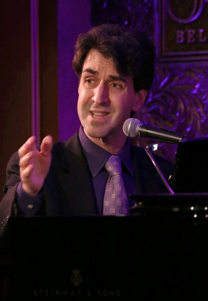 Photo Coverage: Jason Robert Brown, Betsy Wolfe & Adam Kantor Give THE LAST FIVE YEARS Concert Preview at 54 Below