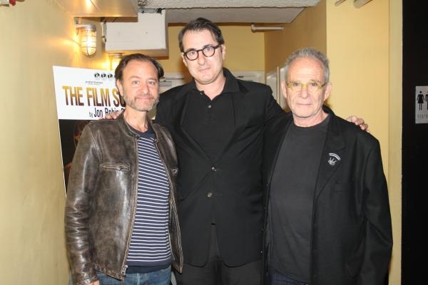 Fisher Stevens, Jon Robin Baitz and Ron Rifkin