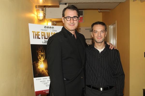 Jon Robin Baitz and Euan Morton