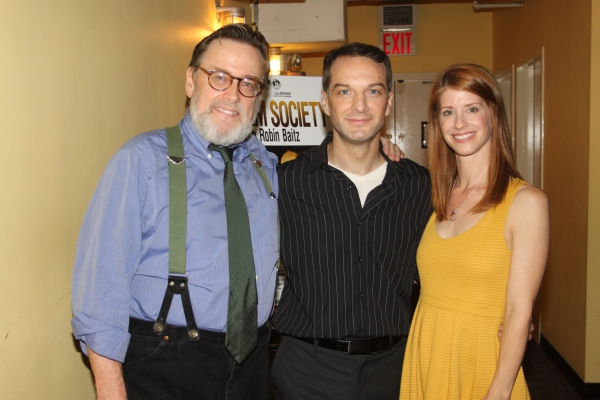 Richmond Hoxie, Euan Morton and Mandy Siegfried Photo