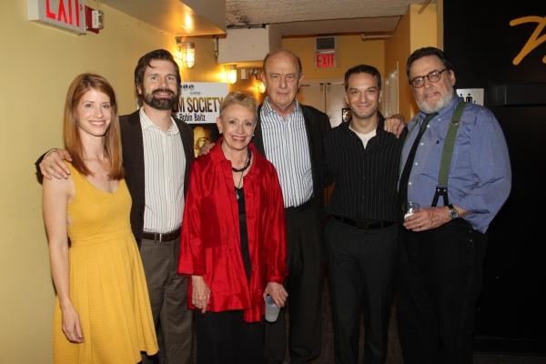 Mandy Siegfried, David Barlow, Roberta Maxwell, Gerry Bamman, Euan Morton and Richmon Photo