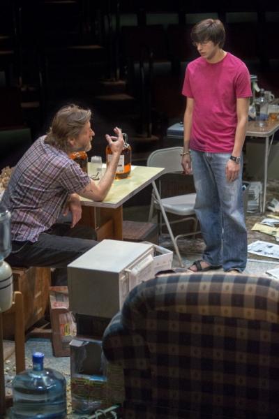 Michael Laurence as Bryan and Gideon Glick as Matthew Photo