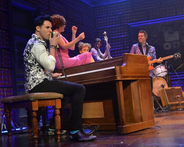 Photo Flash: Frankie Moreno Guest Stars in MILLION DOLLAR QUARTET in Vegas