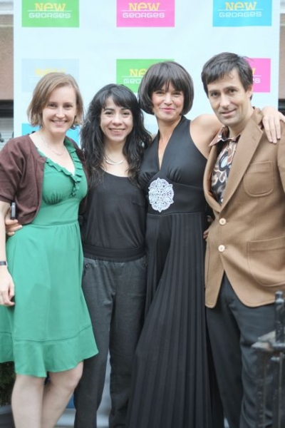 New Georges Deputy Artistic Director Sarah Cameron Sunde, Karla Carballar, Dages Juve Photo