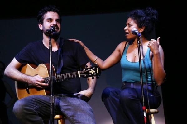 Ashkon Davaran and Rebecca Naomi Jones