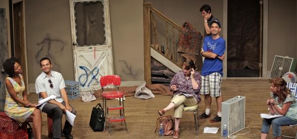 Lena (Noelle LuSane), Kevin (Bari Robinson), Kathy (Amy Roche), Steve (Mark Rubin), Lindsey (Sally Wood) and Tom (Lucas O''Neil)