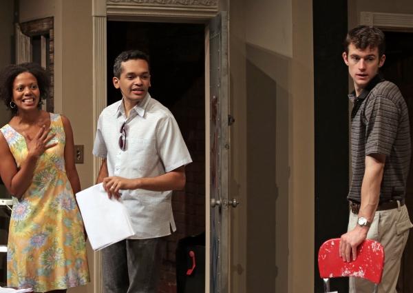 Lena (Noelle LuSane), Kevin (Bari Robinson) and Tom (Lucas O''Neil)