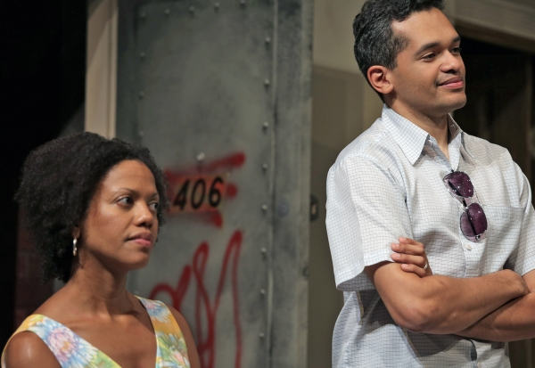 Lena (Noelle LuSane) and  Kevin (Bari Robinson)
