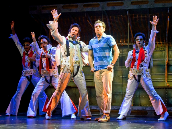 Max Kumangai, Matt Allen, David Josefsberg (Roy Bacon), Rob McClure (Jack) and Grady McLeod Bowman