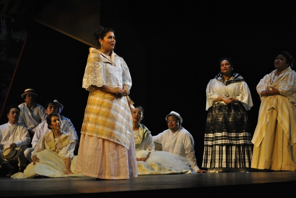 PHOTO EXCLUSIVE: At the Dress Rehearsal of NOLI ME TANGERE-OPERA; Show Premieres 10/4