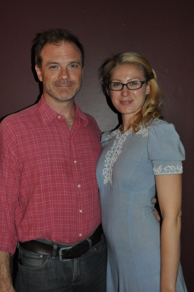 Drew McVety and Margaret Loesser Robinson