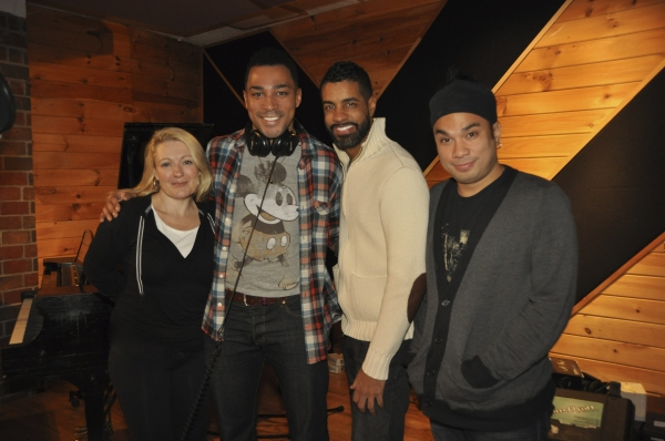 Lynn Pinto (Producer), Charl Brown, Jason Michael Webb (Musical Director) and Andros Rodriguez (Engineer)