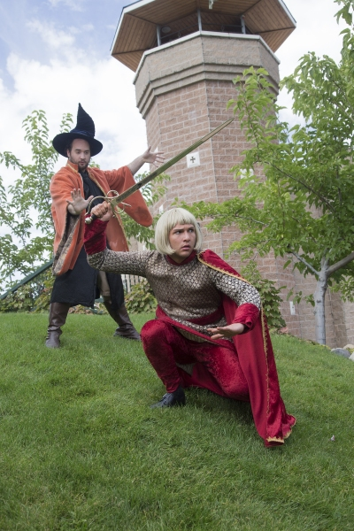 Photo Flash: First Look at THE MAGICAL ADVENTURES OF MERLIN at SCERA