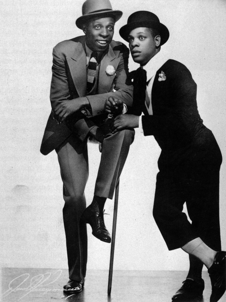 Buck and Bubbles - A Classic Vaudeville Act - Photo by New York Public Library, Performing Arts Research Center Billy Rose Collection.