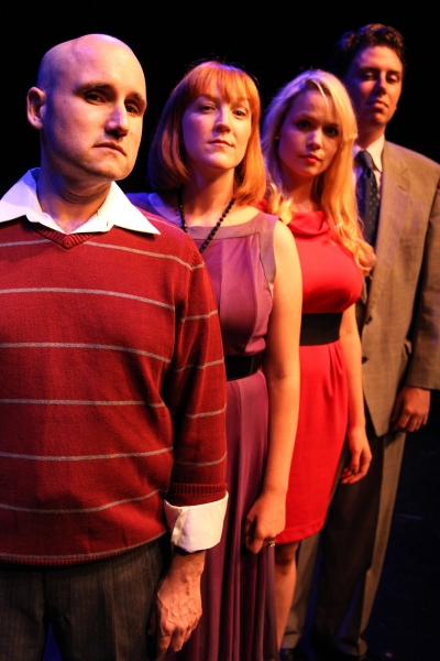 Keith Cavanaugh, Whitney Morse, Sarah Lynn Robinson and Mark Walsh Photo