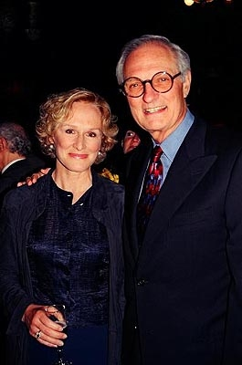 Glenn Close and Alan Alda (Stars Salute Sheldon Harnick at 80th Birthday Gala)