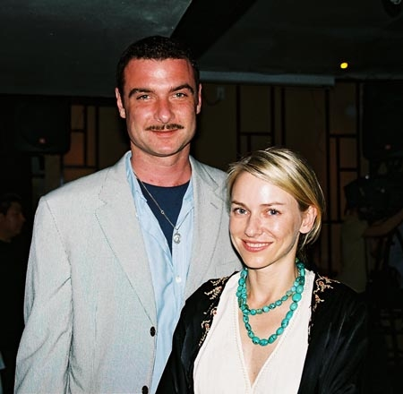 Live Schreiber and Naomi Watts (Manuscript: Off-Broadway Opening Night 2005)