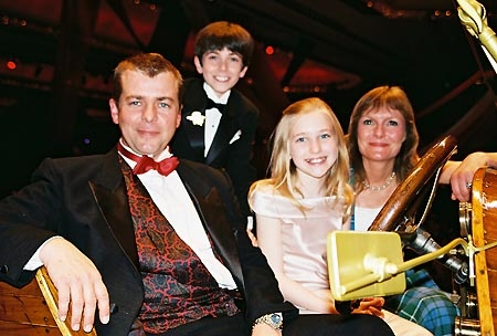 Adrian Hall (played Jeremy in the Chitty, Chitty, Bang Bang movie in 1968), Henry Hodges, Ellen Marlow and Heather Ripley (played Jemima in the Chitty, Chitty, Bang Bang movie in 1968) Chitty Chitty Bang Bang: Opening Night Party 2005)