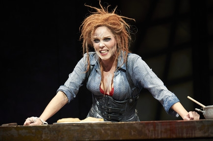 Sara M. Bruner (as Mrs. Lovett)
