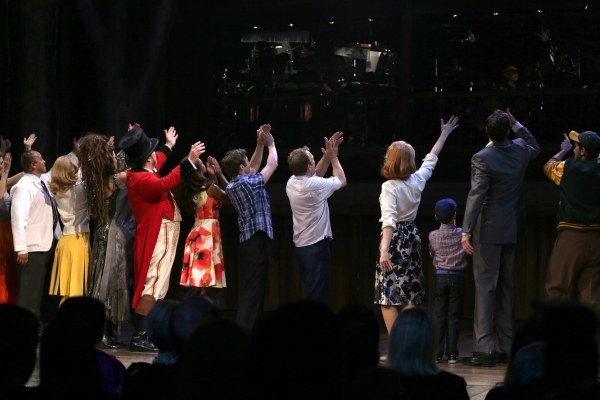 JC Montgomery, Ciara Renee, Brad Oscar, Krystal Joy Brown, Bobby Steggert, Norbert Leo Butz, Kate Baldwin, Zachary Unger, Ryan Andes and Company with the Orchestra