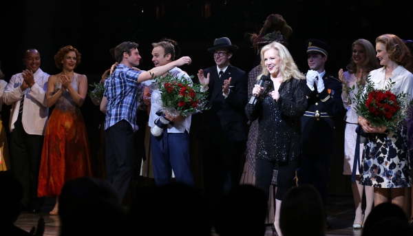 JC Montgomery, Bobby Steggert, Norbert Leo Butz, Tally Sessions, Susan Stroman, Kate Baldwin and Company