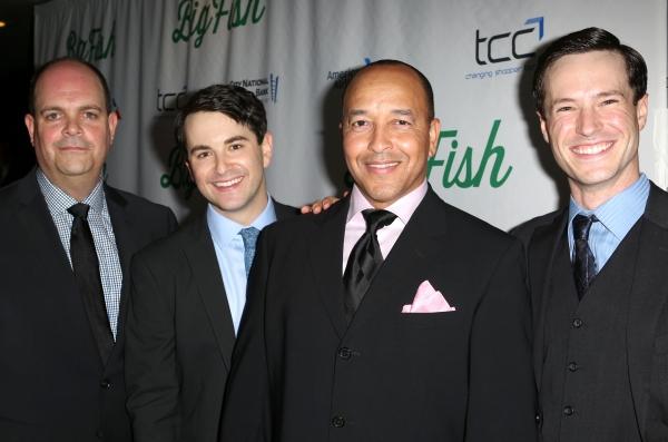 Brad Oscar, Cary Tedder, JC Montgomery, Alex Brightman  Photo