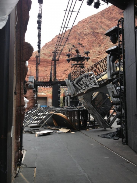 BWW Blog: Jesse Swimm of Tuacahn's MARY POPPINS - Windstorms and Farewells