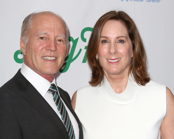 Frank Marshall and Kathleen Kennedy