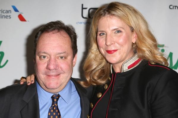 Jimmy Nederlander Jr. and Margo Nederlander