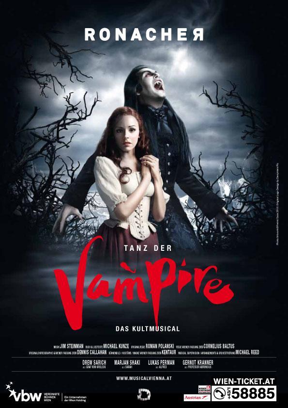 TANZ DER VAMPIRE Set For Paris Premiere October 2014