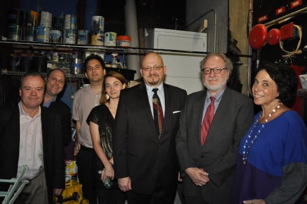 Jason Zinoman, David Cote, Chris Jones, Jeffrey Eric Jenkins, Helen Shaw, Jeremy Gera Photo