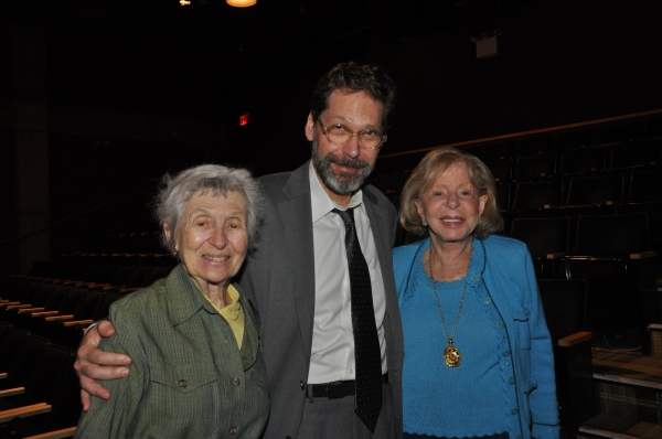 Fern Jaffe, David Staller and Anita Jaffe
