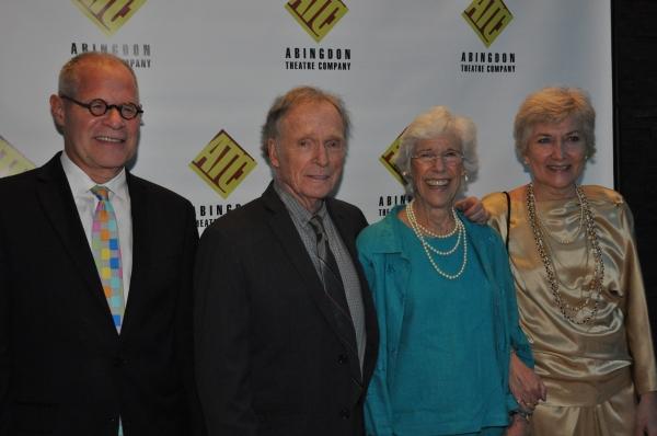 Brian Richard Mori, Dick Cavett, Frances Sternhagen and Jan Buttram Photo
