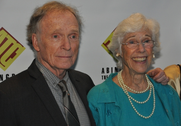 Dick Cavett and Frances Sternhagen Photo