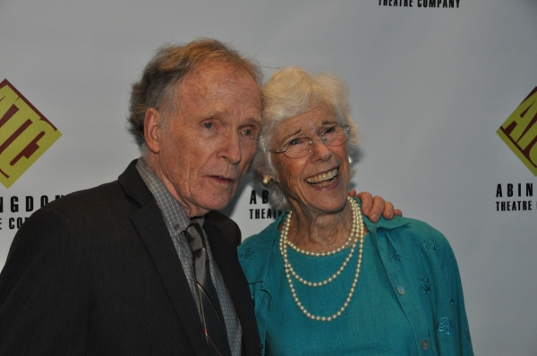 Dick Cavett and Frances Sternhagen