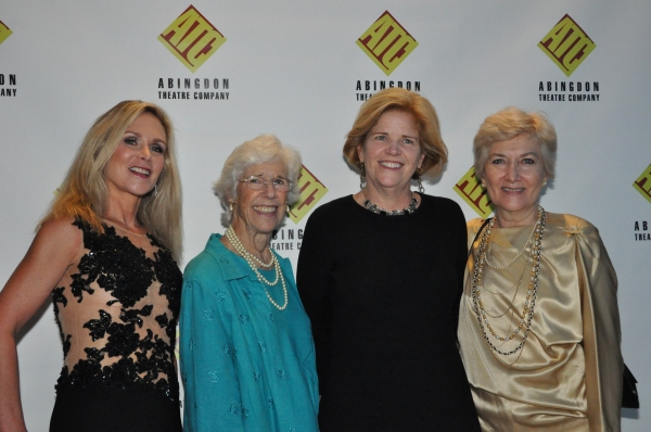 Sheila Burkert, Frances Sternhagen, Barbara Blair Randall and Jan Buttram