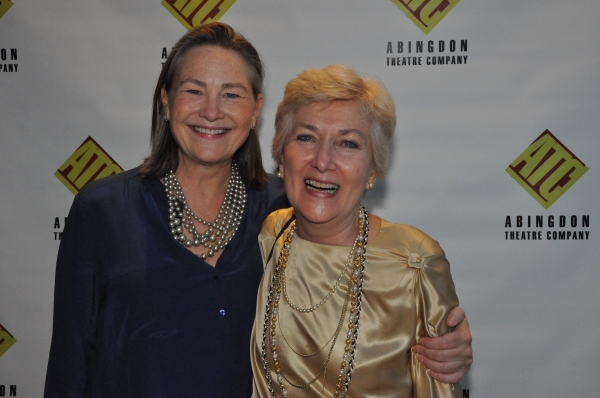 Cherry Jones and Jan Buttram