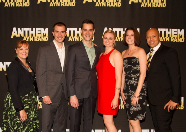 Photo Flash: Cast of ANTHEM Celebrates Opening Night Off-Broadway