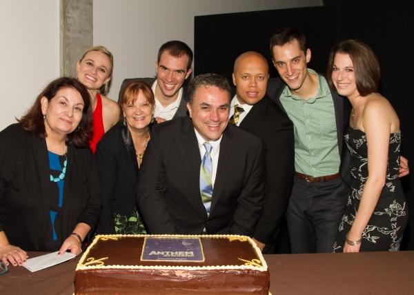 Photo Flash: Cast of ANTHEM Celebrates Opening Night Off-Broadway
