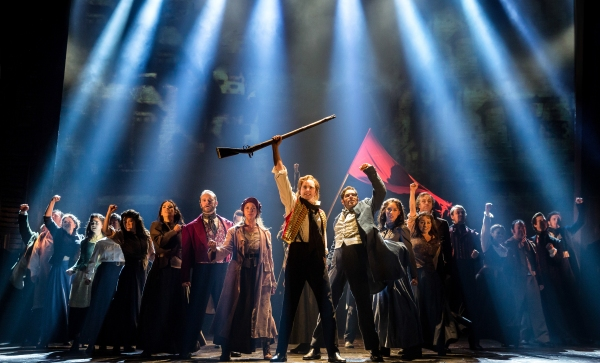 Cast of LES MISERABLES |  Photo Credit: Matthew Murphy