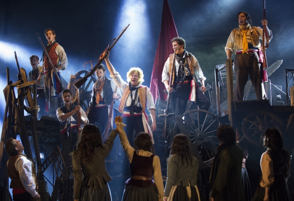 Cast of LES MISERABLES |  Photo Credit: Cylla von Tiedemann