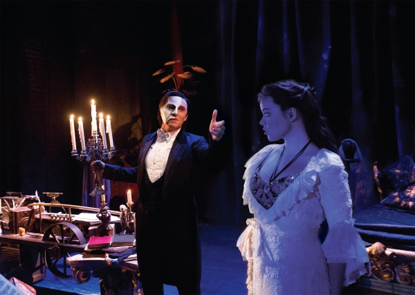 Photo Flash: Mark Campbell, Julia Udine & Ben Jacoby to Lead THE PHANTOM OF THE OPERA National Tour; Full Cast Announced!